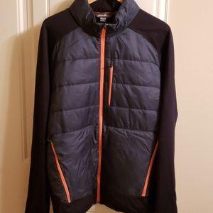 Eddie Bauer down/fleece lightweight jacket